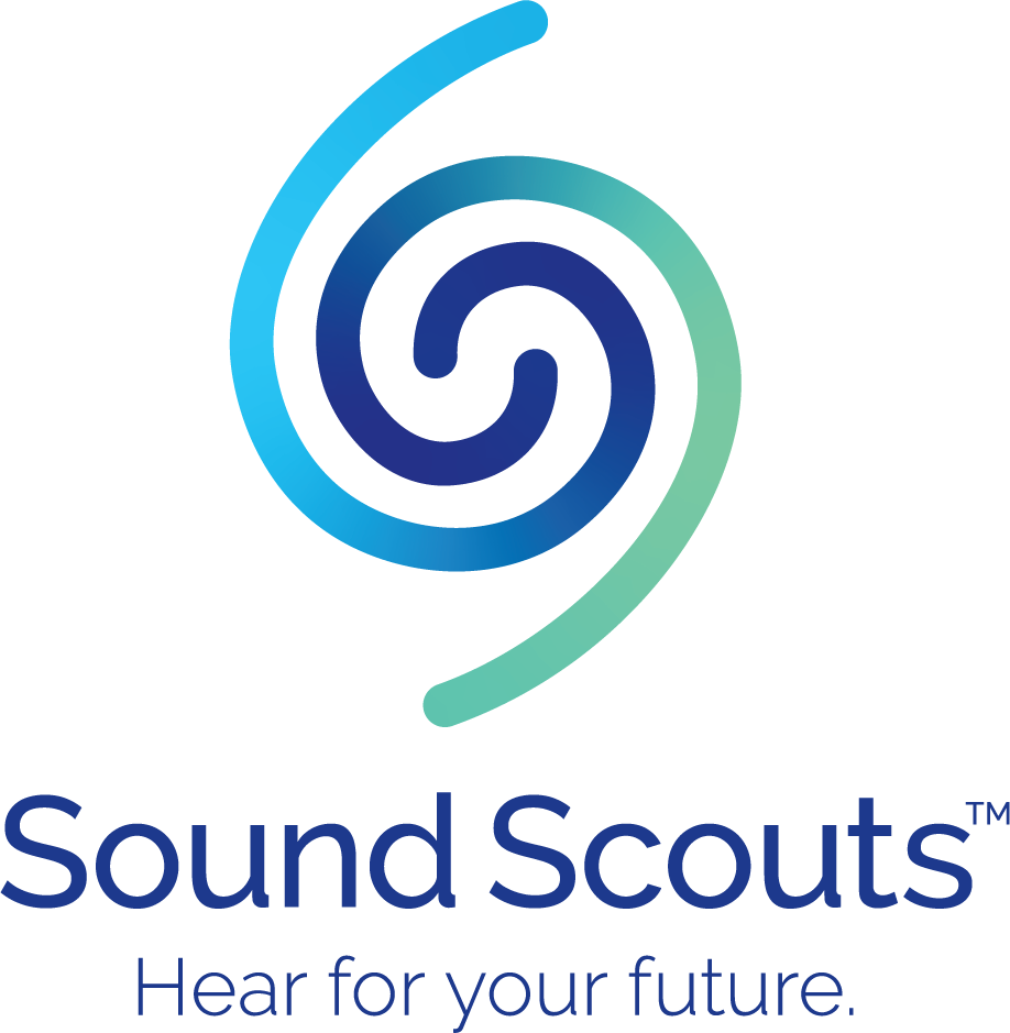 Sound Scouts the children's hearing test designed to make testing easy logo
