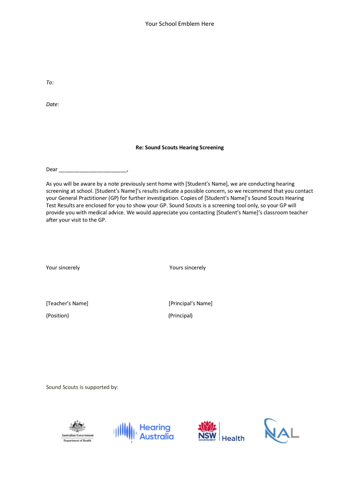 Referral Letter Document Thumbnail