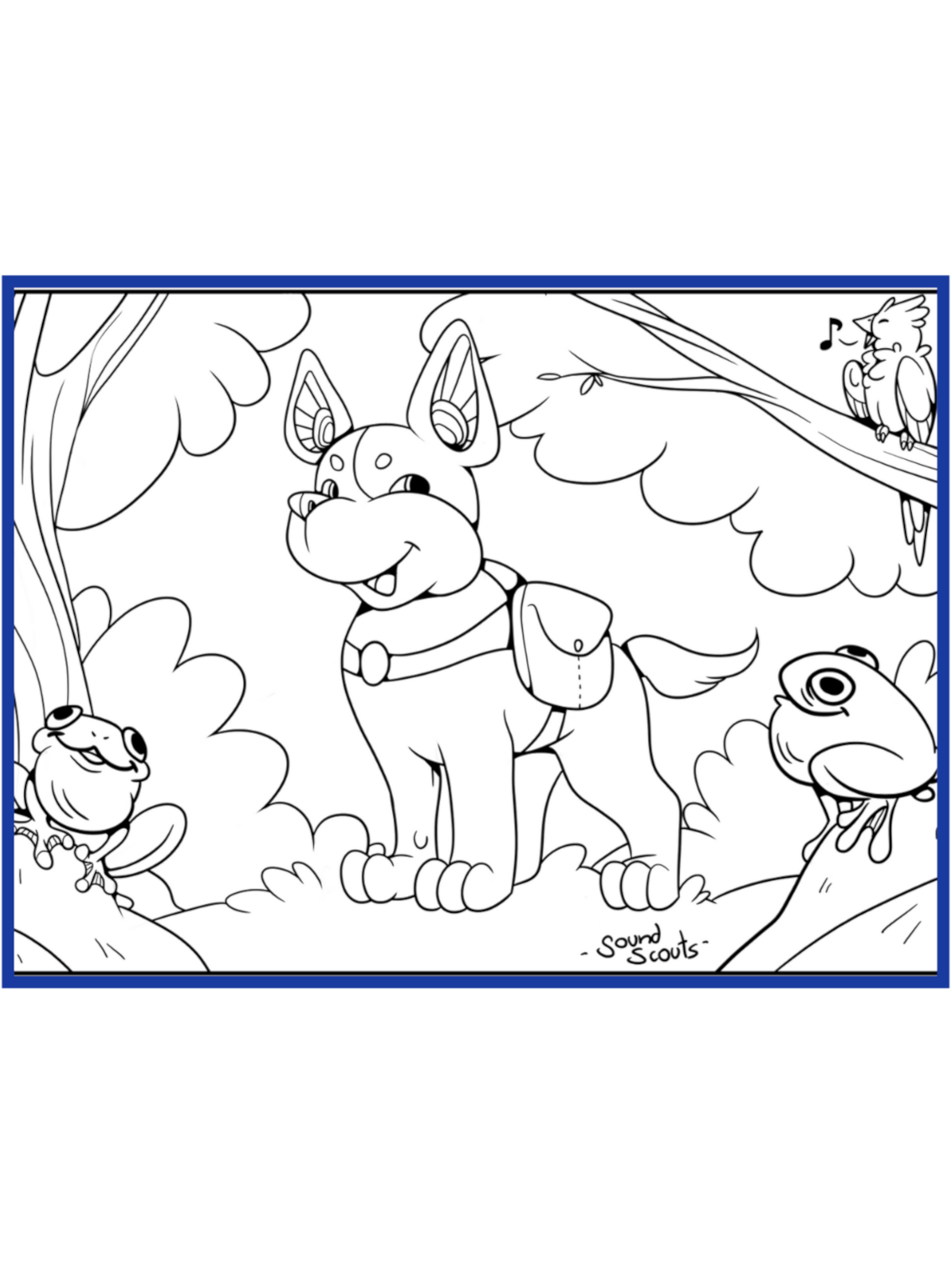 Scout Colouring Sheet Document Thumbnail