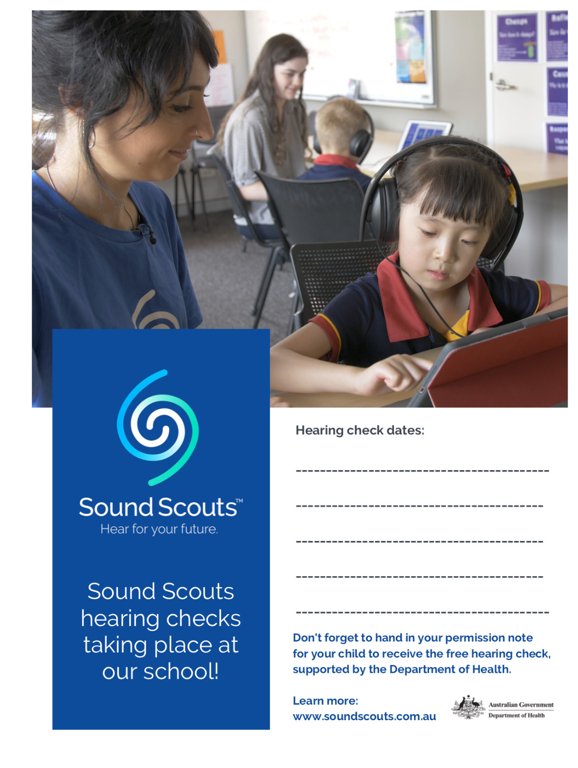Sound Scouts at School Poster Thumbnail